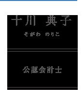 十川典子 公認会計士